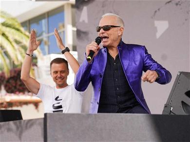 David Lee Roth Causes KAOS With DJ Armin Van Buuren in Las Vegas
