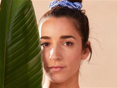 Gymnast Aly Raisman Strips To Swimsuit For Career Announcement
