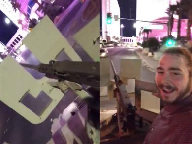 Post Malone Skewered for Riding Machine Gun Mounted Humvee Near Las Vegas Strip