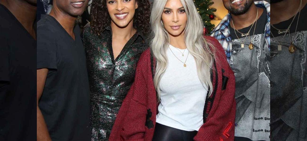 Kim Kardashian and Kanye West Do Date Night at Chris Rock's Show