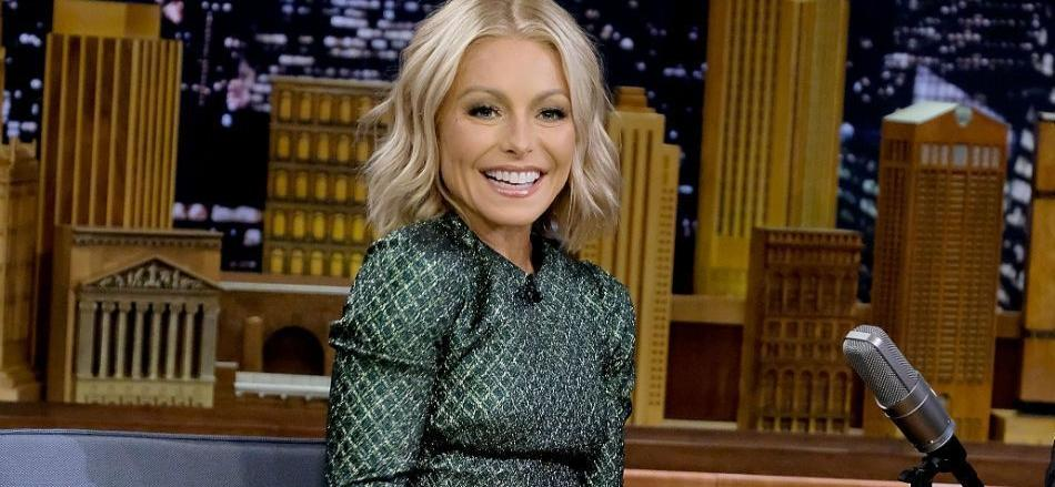 Kelly Ripa Stuns In Sheer Dress On The Beach For Mother's Day Throwbacks
