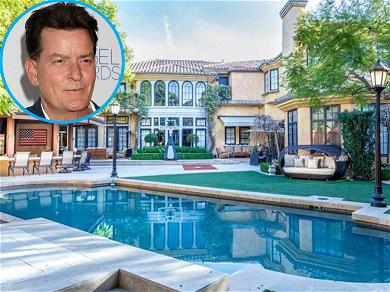 Charlie Sheen's House is in Foreclosure, Cuts Big Check to Save It