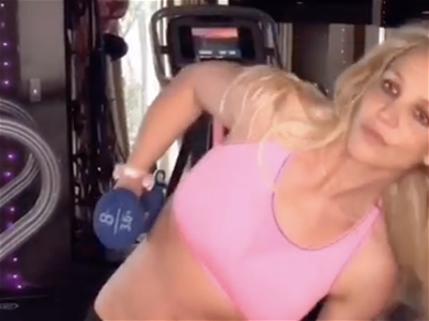 Britney Spears Gets 'Skinny as a Needle' at 'Tom's Diner'