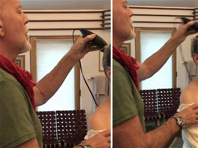 Bruce Willis Shaves His Daughter's Head Bald, Fans Think She Looks Like 'G.I. Jane'