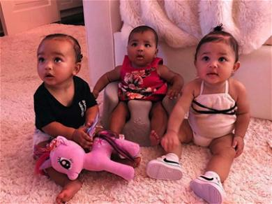Get Ready to Swoon! ? Kim Kardashian Shows Off Chicago, True and Stormi on a Playdate