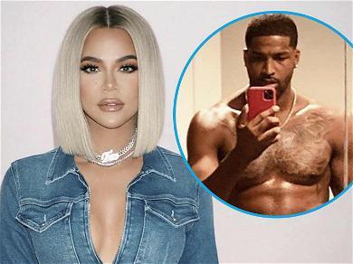 Khloé Kardashian Falls Into Tristan Thompson's Shirtless Thirst Trap