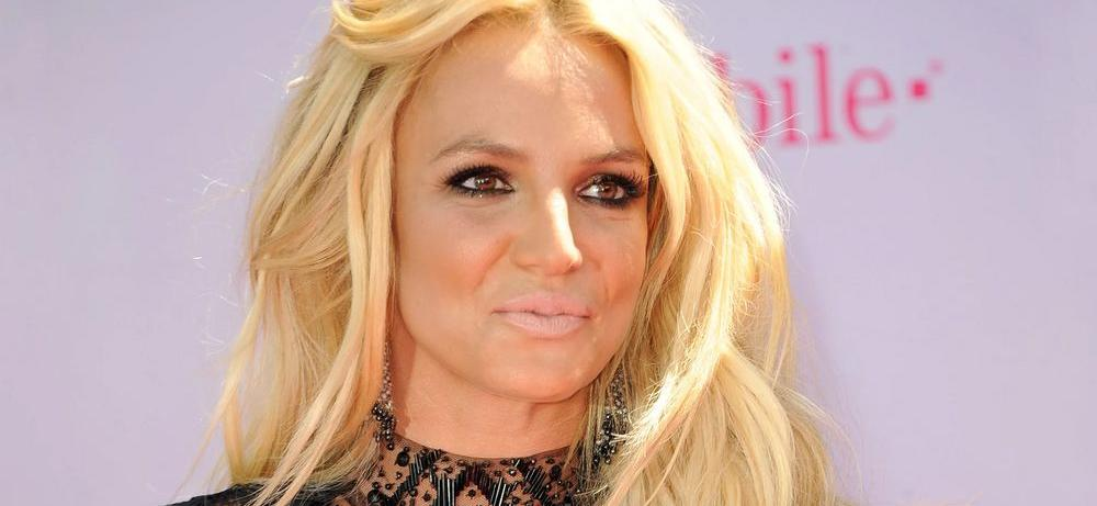 Britney Spears Hikes Massive Hill In Minuscule Shorts