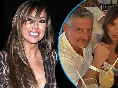 'RHOC' Kelly Dodd All Smiles While Partying At Versace Mansion Amid Firing Rumors