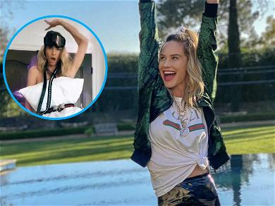 'RHOC' Meghan King Edmonds Shares Sultry Pillow Challenge After Ex Confirms New Relationship