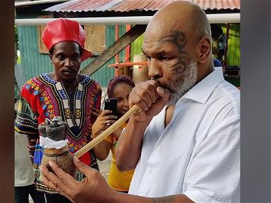 Mike Tyson Takes Ceremonial Toke With Rastafari Elder In Amazing Video